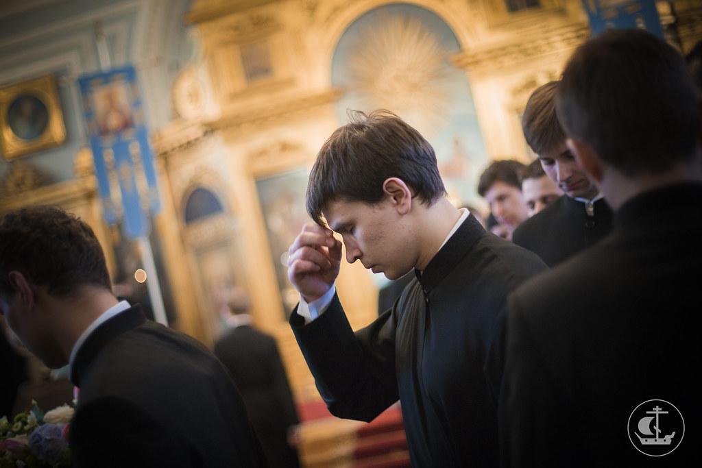 6 апреля 2015, Всенощное бдение накануне Благовещения Пресвятой Богородицы / 6 April 2015, Vigil on the eve of the Annunciation of the Theotokos