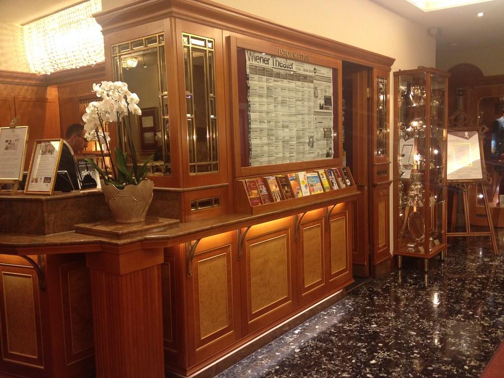 Hotel Stefanie, Rezeption © diekremserin