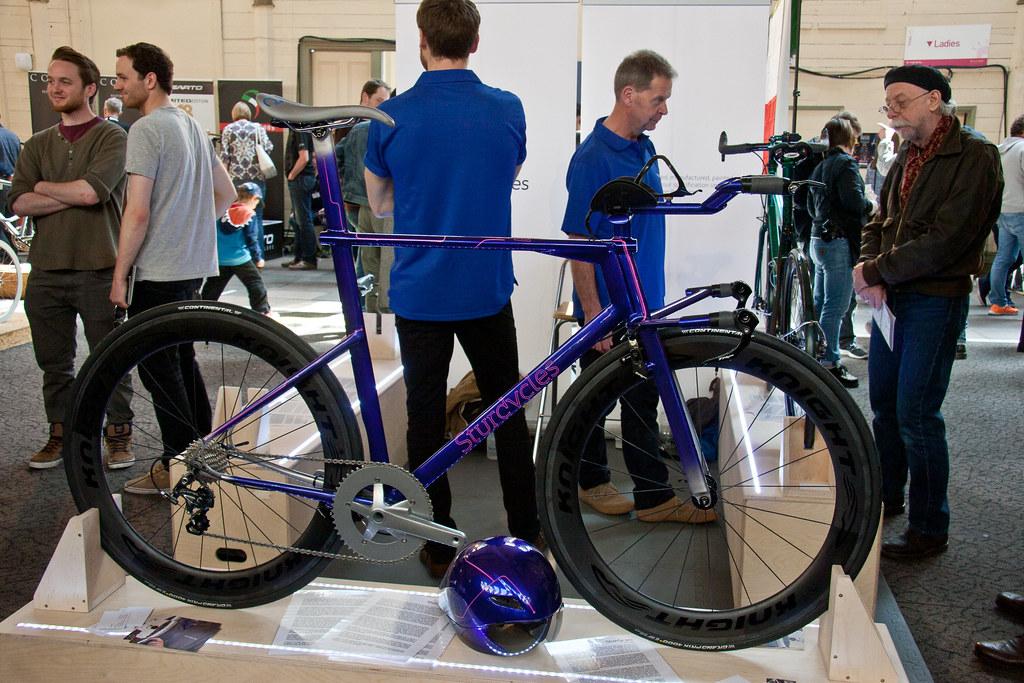 Surdy Cycles Timetrail Steel Bike Bespoked Bristol UKHBS