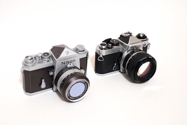 Nikon F Papercraft-2