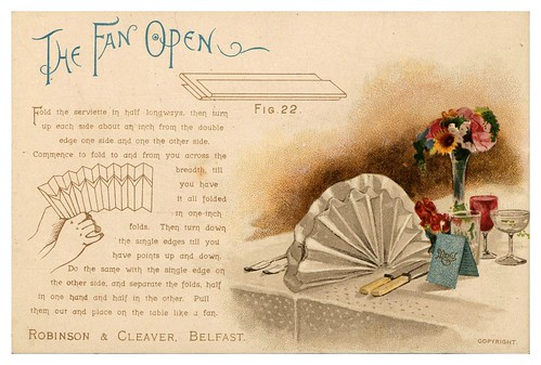 013-Serviettes and how to fold them-1890-Robinson and Cleaver- The Metropolitan Museum of Art