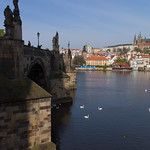 Kaarlen silta ja Prahan linna