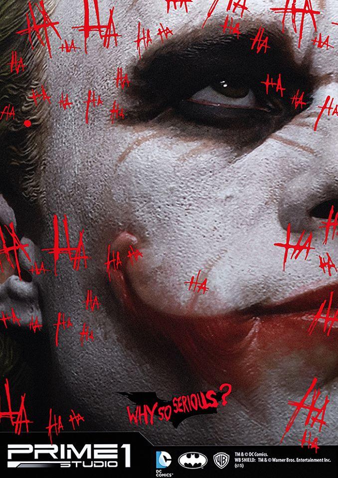 """宛如真人的終極傑作!Prime 1 Studio 博物館大師系列1/2 比例""""小丑"""""""