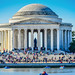 Jefferson Memorial in the Spring - Washington DC by mbell1975