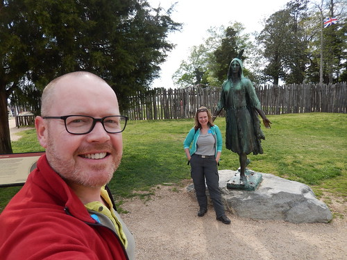 Historic Jamestowne - Pocahontas