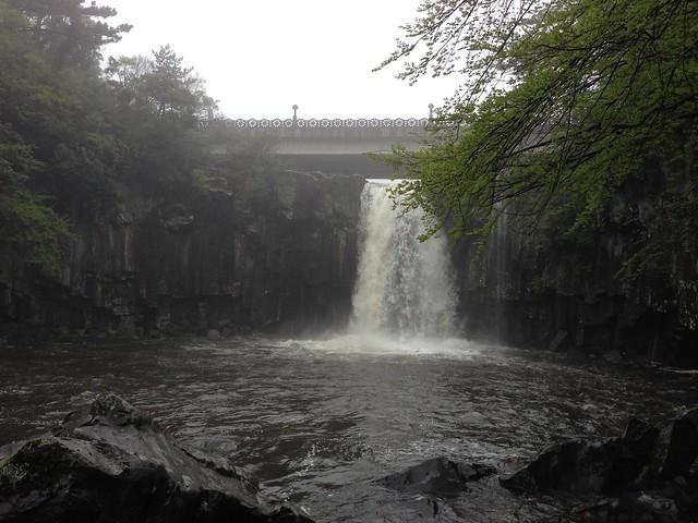 Waterfall #1 at Cheonjeyeon Falls