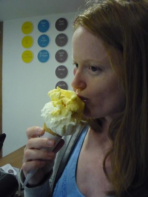 Ice Cream at BLU in Barranco