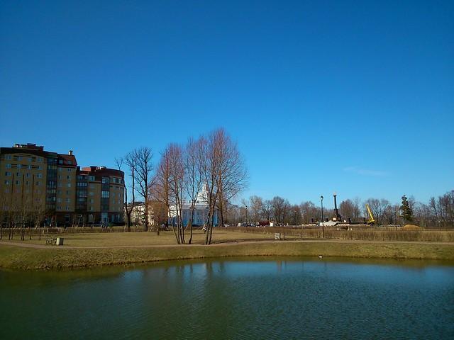 Маленький пруд // Small pond
