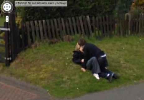 intimacy on park