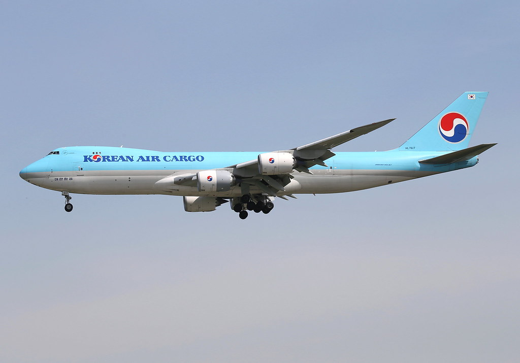 HL7617 - B748 - Korean Air