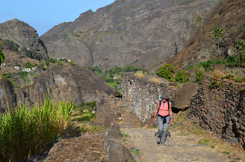 Route to Dos Ilhas, Ribeira do Paul Valley, Santa Antau, Cape Verde