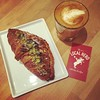 cortado and pistacchio croissant #localhero #toronto #cortado #cafe #thirdwave #roncesvalles #blogto