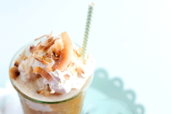 Toasted Coconut & Rum Iced Coffee