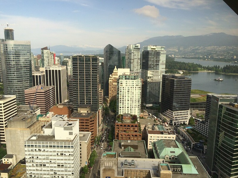 Vancouver city, from Skyline