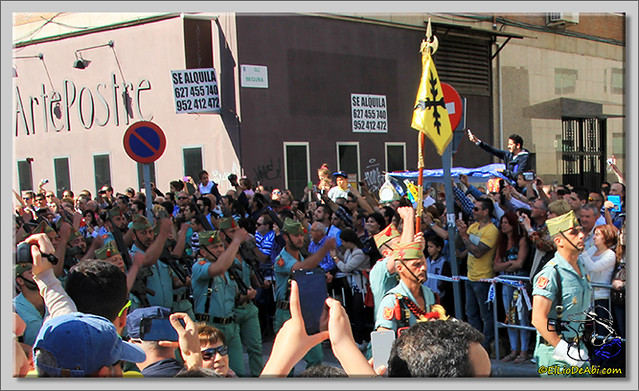3 Semana Santa en Málaga. Cristo de Mena y Legionarios