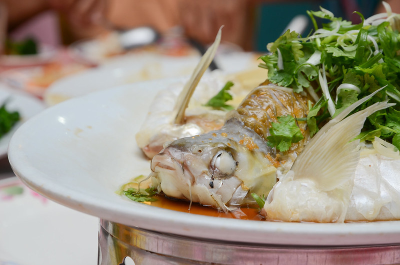 Green View Restaurant's Steamed Kerai fish