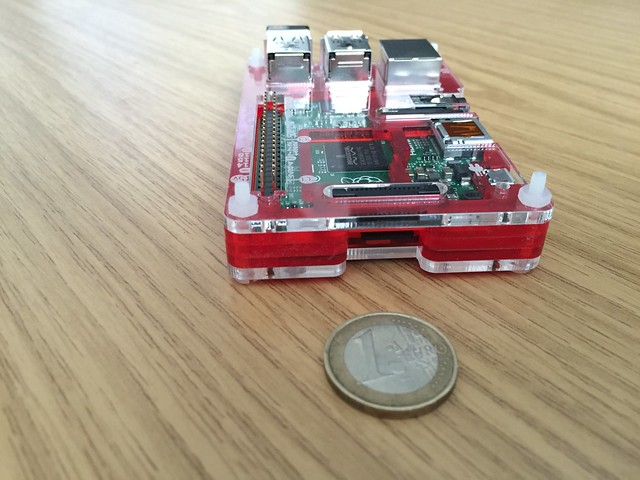 Raspberry Pi 2 B+ new clothes
