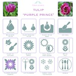 Tulip purple prince details