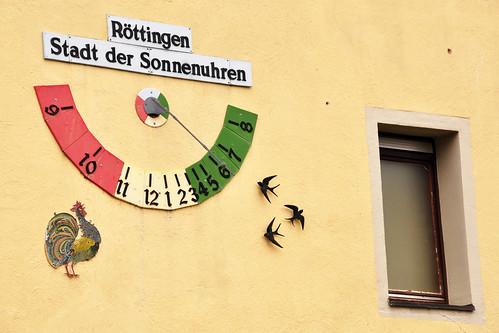 Röttingen - Stadt der Sonnenuhren