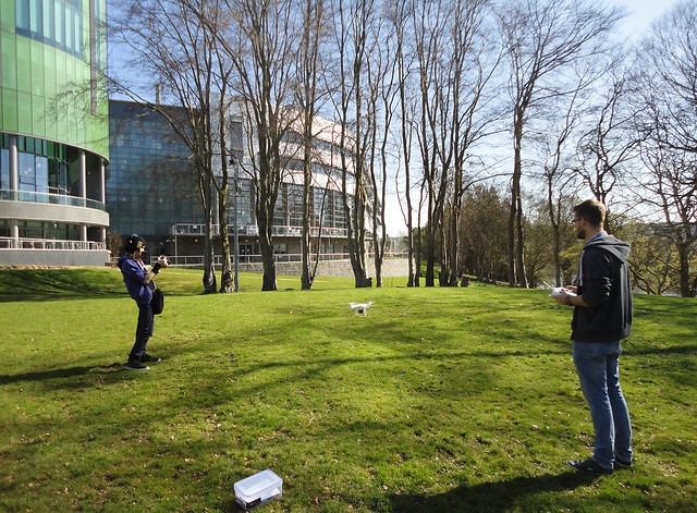 2015 04 21 Quadcopter on Campus