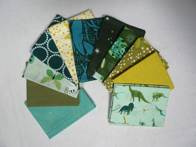 Fat Quarter Set Natural History by Lizzy House