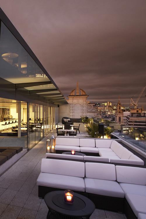 luxury interiors balcony