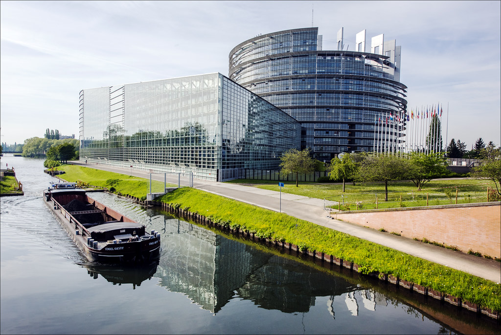 EU Parliament in Strasbourg