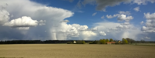 primavera clouds landscape spring sweden paisaje nubes sverige suecia vår landskap moln katrineholm