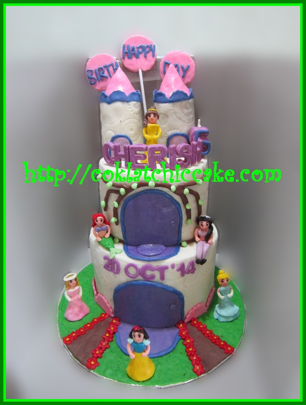 Cake Castle Princess