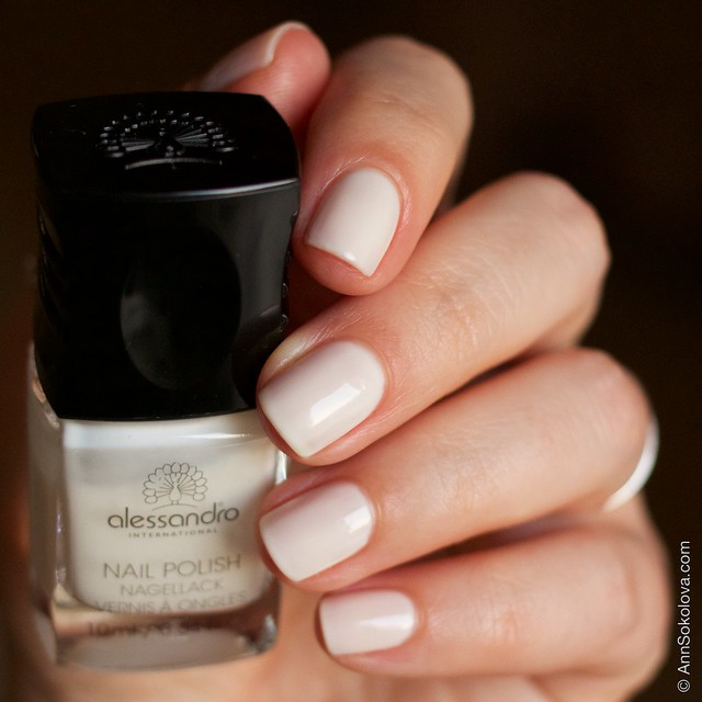 08 Alessandro Nail Polish   Milky Dream