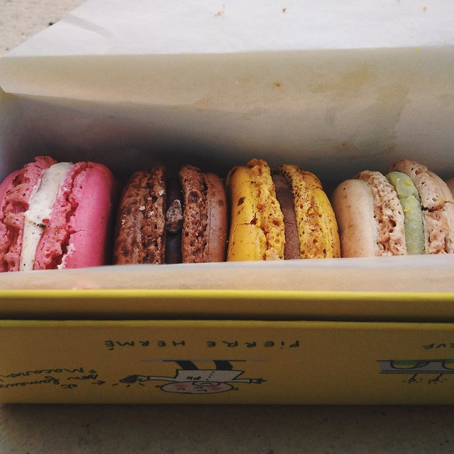 Eat these. Macarons at Pierre Herme.