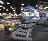 Space Train - MOC - Locomotive - Philly BrickFest 2015 - Oaks, PA