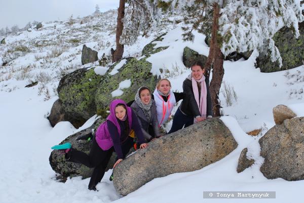 11 - Невероятные приключения москвичек в Каштелу Бранку - Serra da Estrela