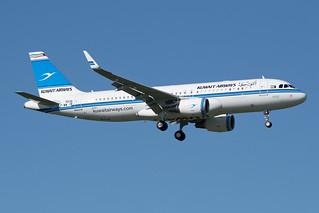 "F-WWIB / 9K-AKK ""Tashalah"" - Airbus A320-200 - Kuwait Airways - msn 6538"