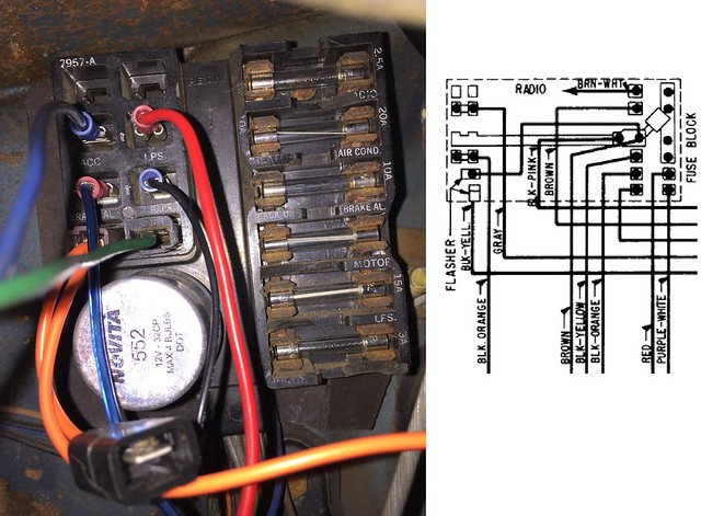 chevy nova fuse box replacement 31 wiring diagram images Chevy Truck Fuse Block Diagrams 1955 Chevy Wiring Diagram