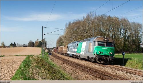SNCF 467494 + 467629 @ Quévy
