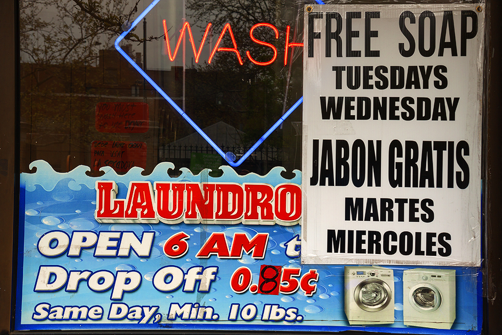 FREE SOAP TUESDAYS WEDNESDAY--Harlem
