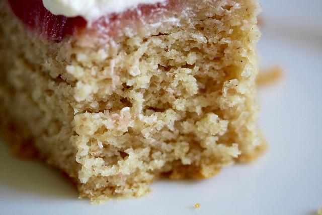 Rye & Rhubarb Cake - 52