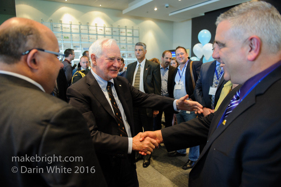 Governor General David Johnston at the AC - May 2016 435