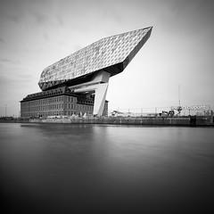 Nieuw Havenhuis Antwerpen by Zaha Hadid, Antwerp, Belgium