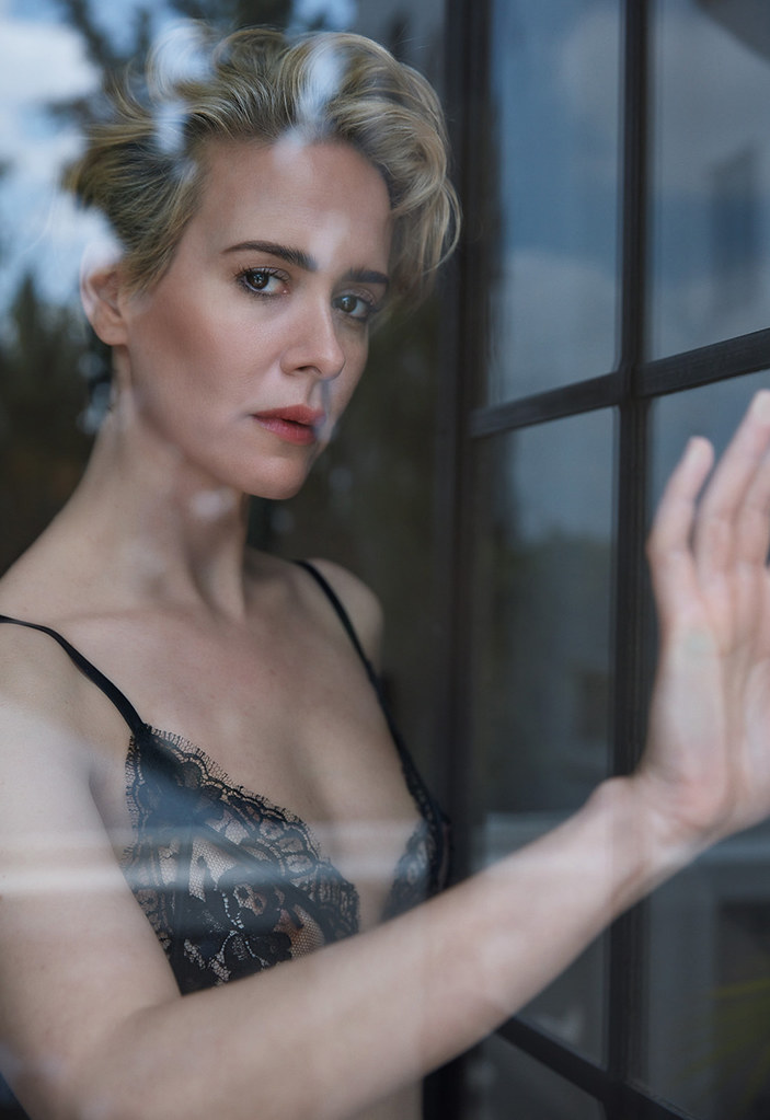 Сара Полсон — Фотосессия для «W» 2016 – 3