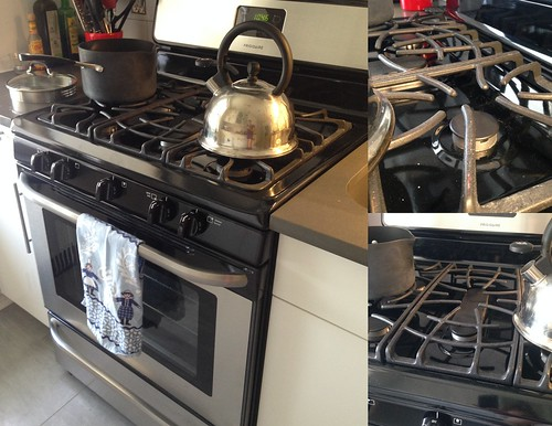 Robot Journal : The New Apartment: Things Bought - Frigidaire Gas Range