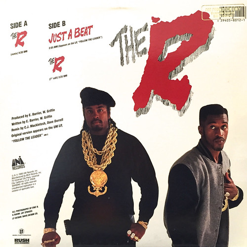 ERIC B & RAKIM:THE R(JACKET B)