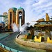 Journey to Atlantis, wet high speed fun at SeaWorld in San Diego California USA by Pilgrim Traveler