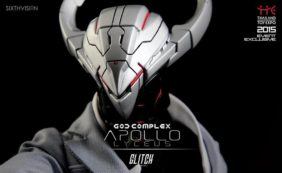 GLITCH_net × JP TOYS【太陽神阿波羅】God Complex Apollo Lyceus 泰國玩具展限定