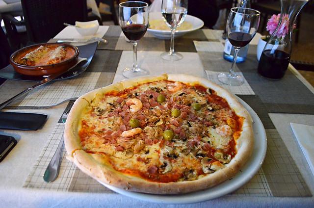 Pizza, Da Arianna, Puerto de la Cruz, Tenerife