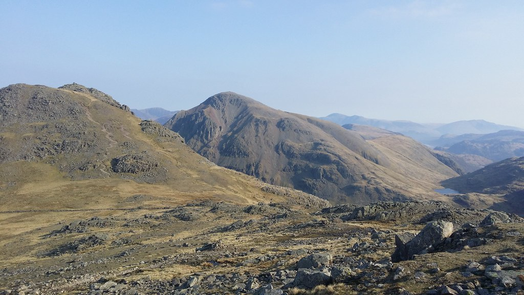 Lingmell and Great Gable #sh