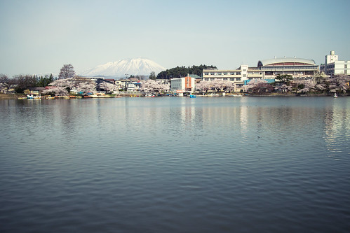 pink nature canon cherry eos spring pond blossom m takamatsu iwate april viewing morioka kitakami tenshochi efm22mmf20stm canon22mm20stm