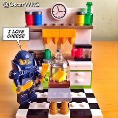 #LEGO_Galaxy_Patrol #LEGO #cheese #Kitchen @lego_group @lego @bricknetwork @brickcentral