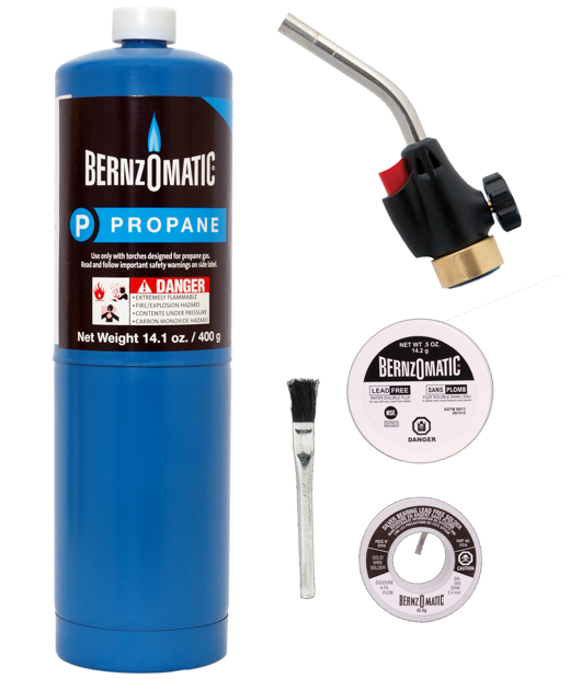 BernzOmatic Trigger Start Plumbing Torch Kit is useful for household jobs